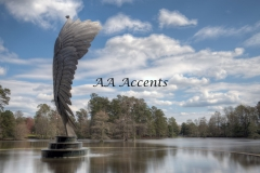 WING STATUTE AT SWAN LAKE SC57